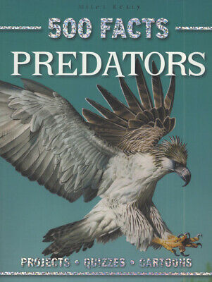 500 facts: Predators (Paperback)