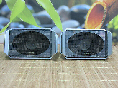 Alpine 6101 Oldschool Vintage Speaker. Double Cone. Nos! New Without Packaging