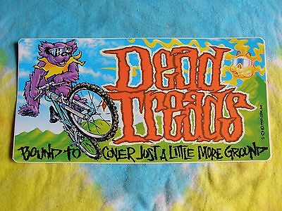 Grateful Dead Dead Tread Bound to Cover Just a Little More Ground 8 Inch Sticker