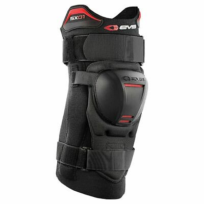 EVS Knee Brace SX01 Knieorthese (1Stk.) Kids Schwarz Enduro Cross Motocross MX