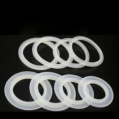 10X Silicone Ring Gasket For Home Sink Pop Up Plug Cap Sealing Washer Spacer