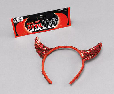 New Halloween Cuff Collar Ears Horns Tail Sequin 4 Pcs Devil And Cat Set Kitty