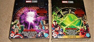 Marvel Studios Phase 2 and 3 Collectors Edition Box Sets / WORLDWIDE SHIPPING