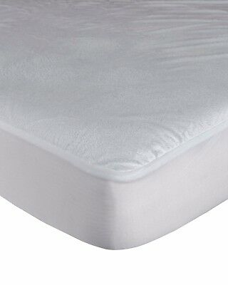 BUNK BED SIZE WATERPROOF TERRY TOWEL MATTRESS PROTECT Fitted Sheet Bed Cover