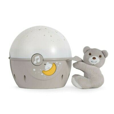 Brand new in box Chicco Next 2 Stars cot projector with soft toy in Neutral 0m+