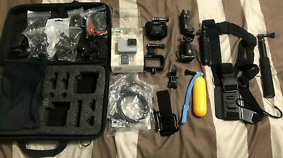 GoPro - HERO7 White HD Waterproof Action Camera - White. Accessories Included.