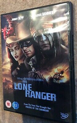 Disney The Lone Ranger Jonny Depp Dvd