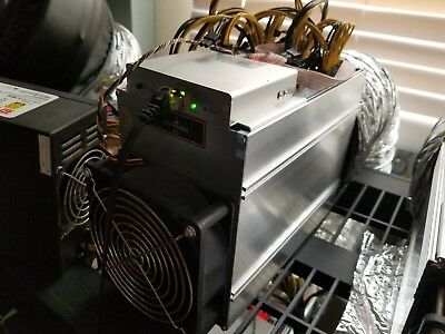 3 Bitmain AntMiner A3 Miners 815GH/s Siacoin and New Hyperspace Coin With PSUs