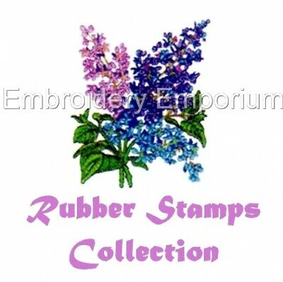 Rubber Stamps Collection - Machine Embroidery Designs On Cd Or Usb