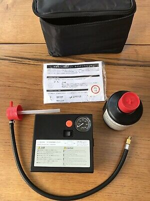Genuine Subaru Tyre Inflator with Sealant Repair.