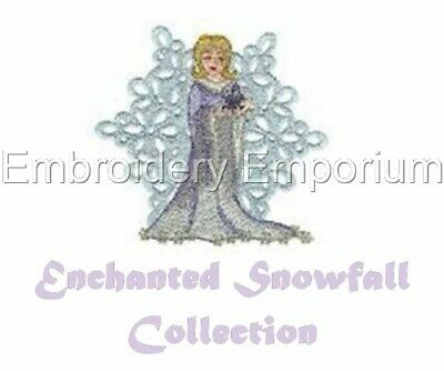 Enchanted Snowfall Collection - Machine Embroidery Designs On Cd Or Usb