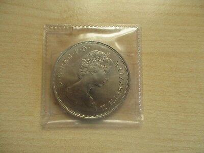 1980 Queen Mothers 80th Birthday Commemorative Crown Coin