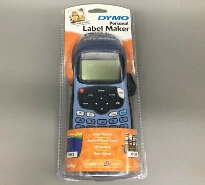 DYMO Personal Label Maker LT-100H LetreTag - Fast Free Shipping - D33