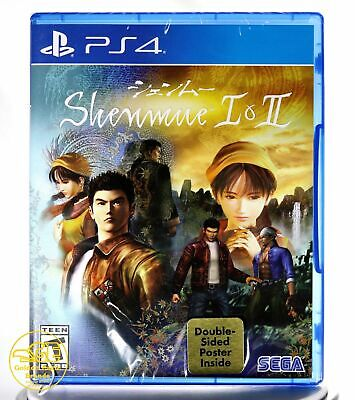 Shenmue I & II ( Playstation 4 / PS4 )