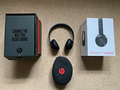 Beats by Dr Dre Solo 3 Wireless Headphones - Black (Used)