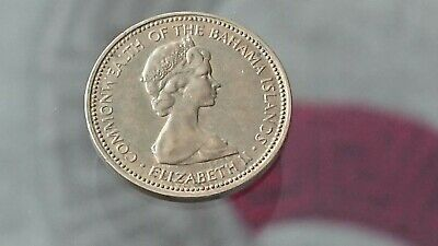 1973 One Cent Bahamas Elizabeth 2