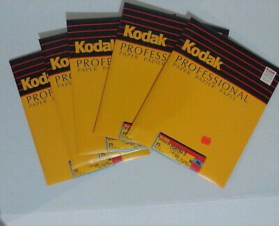 Kodak Ektacolor Portra II N RA 25ct 8x10 type 2839 old stock Sealed packs