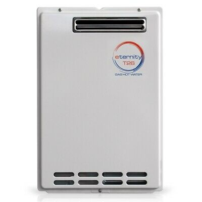 Eternity T26 26L Continuous Flow LPG Gas Hot Water Heater, Japan Made, Free post