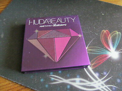 HUDA Beauty amethyst obsessions  travel size  No box small flaw