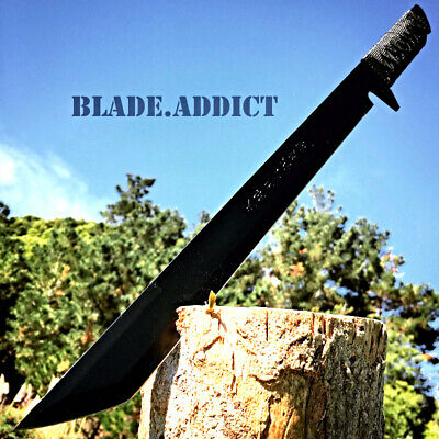 "18"" Hunting Ninja Machete Knife Military Tactical Survival Sword -X"