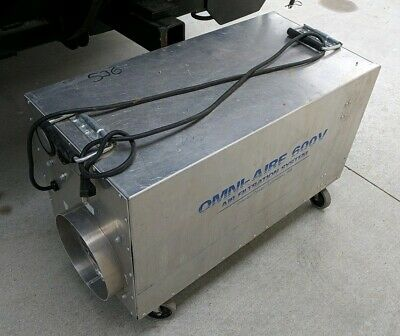 Omni-Air 600V HEPA Air Machine Filtration Negative Air