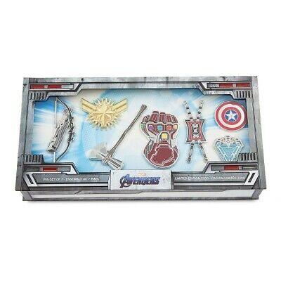 Disney Marvel Avengers: Endgame pin set Limited Edition Of 2200 - SOLD OUT 2019