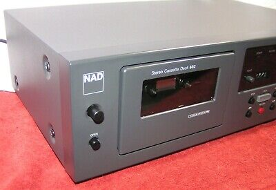 NAD Model 602  Dolby B&C Cassette Deck - Fully Serviced - Sounds Great!