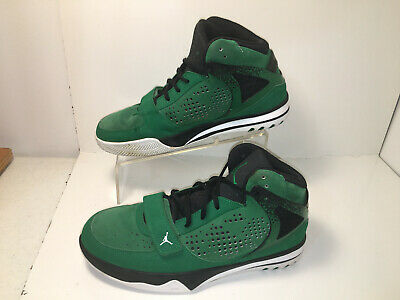 wholesale dealer dc778 efca4 NIKE AIR JORDAN Phase 23 Hoops 440897-401 Green White Black Shoes Men s
