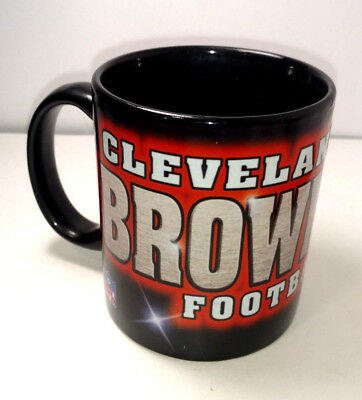 38983f20ea4 NFL CLEVELAND BROWNS Ceramic Coffee Mug FOOTBALL COLLECTIBLE ...