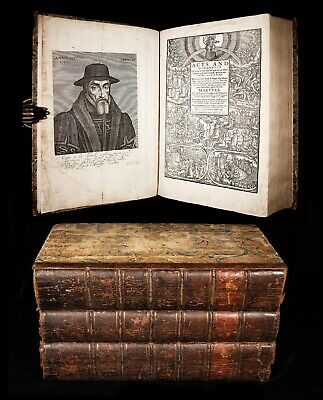 1641 FOXE Book of Martyrs ACTS & MONUMENTS English PROTESTANT CHURCH HISTORY