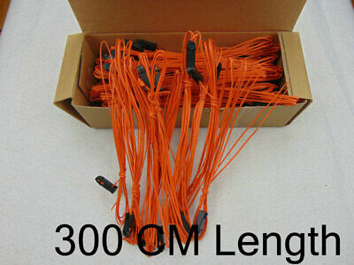 300CM-80pcs Yellow-wire fireworks firing system-Wireless switch connect wire FCC
