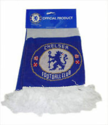 Soccer Sports Jacquard Scarves Official Chelsea Football Club Supporters Scarf