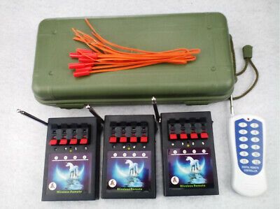 12Cues fireworks Firing System remote Transmitter switch wireless control ignite