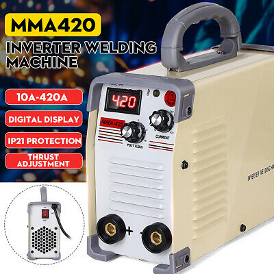 ARC Force Welder Inverter MMA 220V 420Amp Portable Stick Welding Machine IGBT AC