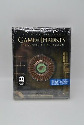 Game of Thrones: The Complete First Season Gift Box Blu-ray 2015 SEALED/NEW