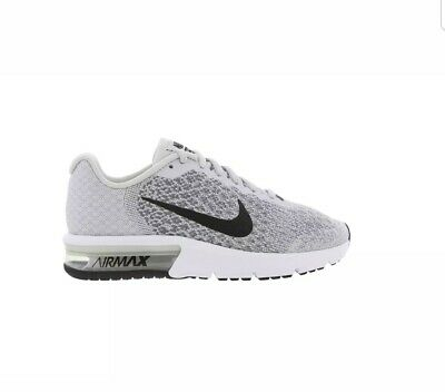 GIRLS BOYS JUNIORS NIKE AIR MAX SEQUENT 2 Trainers 869993 006 Size UK 5.5
