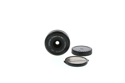 Fujifilm Fujinon 18mm F/2 XF R Lens For X-Mount Mirrorless {52}