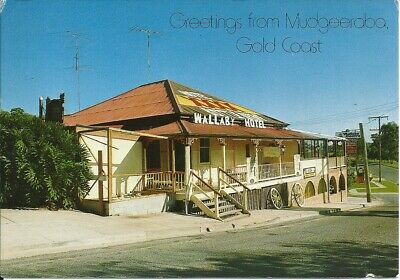 Colour Postcard , The Wallaby Motel , Mudgeeraba , Gold Coast , (CH)