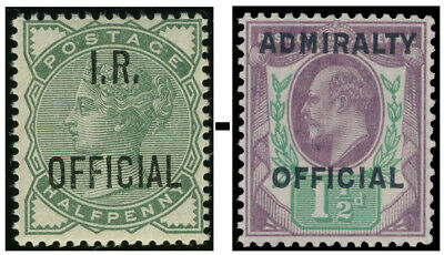 Officials Sg O1-O109 Mounted Mint Condition Single Stamps
