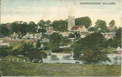 Isle of Wight Colour Postcard , Carisbrooke Village (CH)