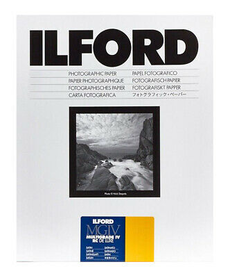Ilford MGIV RC Deluxe Satin Size: 9½ x 12 in - 24 x 30.5 cm 50 Sheets