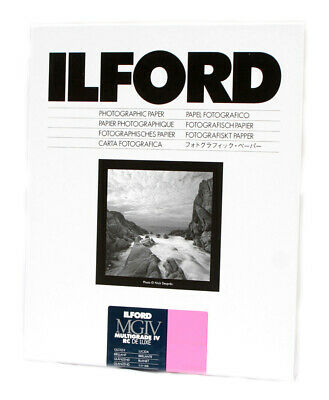 Ilford MGIV RC Deluxe Glossy Size: 6.5 x 8.5 in - 16.5 x 21.6 cm 100 Sheets