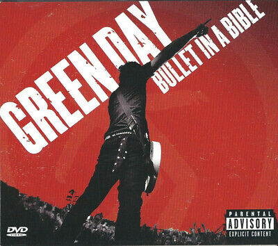 Green Day Bullet In A Bible (NM or M-) Dig + CD, Album + DVD-V,
