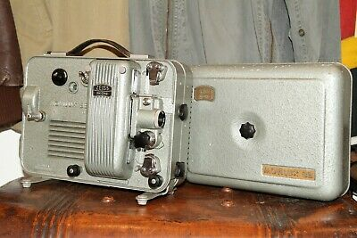 Stunning Vintage ZEISS IKON Movilux 8B 8mm Film Projector 1950's / 1960's