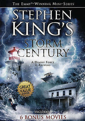 Stephen King Storm of the Century & 6 Bonus Movies (DVD, 2015) U.S. Issue!