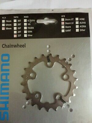 SHIMANO DEORE LX FC-M570 44T MTB Chainring- NEW / NOS 94BCD