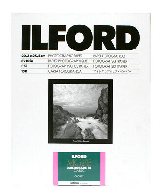Ilford MGIV FB Classic Glossy 12x16in (30.5 x 40.6cm) 50 Sheets