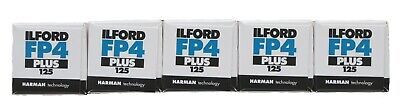Ilford FP4 Plus 125 - 120 - Pack of 5 Film