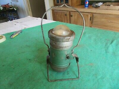 "Vintage Rare Style Railroad ?? Light Lantern 11"" Tall at Handle   Lot 19-43-5"