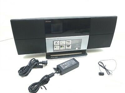 """Pioneer X-SMC3-S AirPlay Music Tap System, 2.5"""" LCD, 802.11g, DLNA 1.5, Aux-in,"""